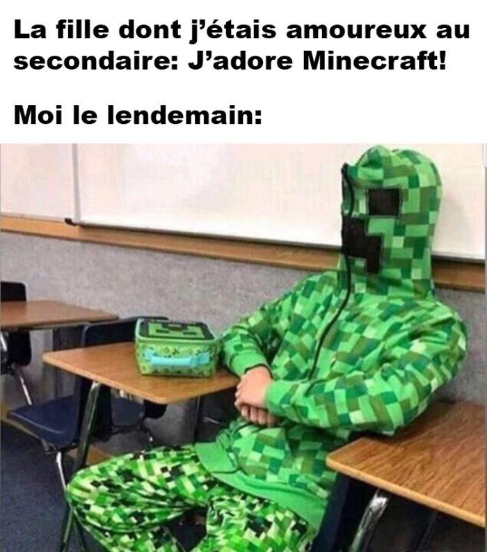 J'adore Minecraft!