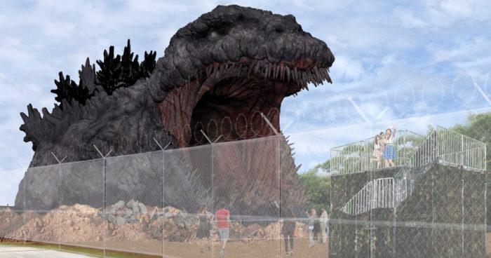Le Japon va ouvrir une attraction grandeur nature de Godzilla