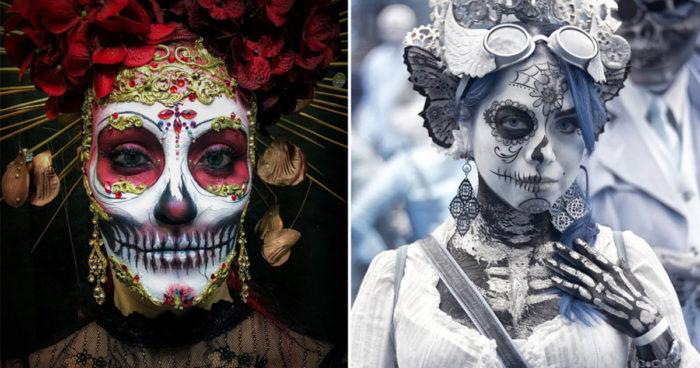 15 costumes vraiment incroyables du Jour des Morts au Mexique