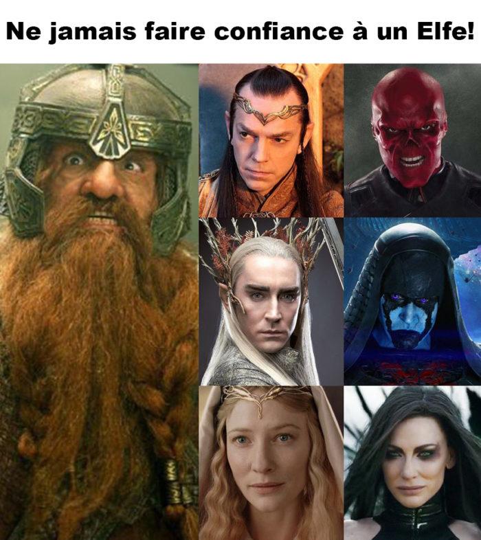 Ne jamais faire confiance à un Elfe!
