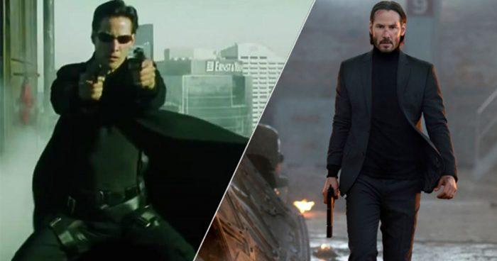 Matrix 4 et John Wick 4 avec Keanu Reeves sortiront exactement le même jour au cinéma