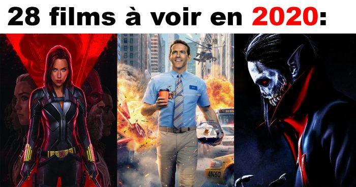 28 excellents films qui vont sortir en 2020