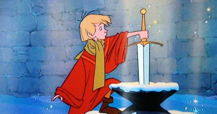 Un visiteur de Disneyland a réussi à extirper Excalibur de son rocher