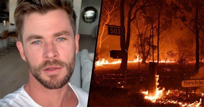 Chris Hemsworth a donné un gros montant d'argent pour sauver l'Australie face aux incendies