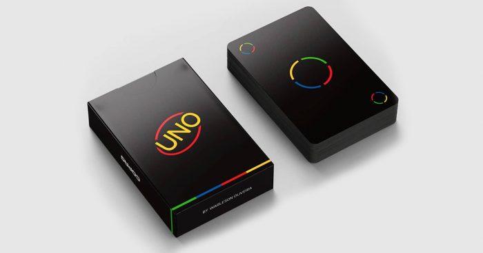 Un designer a imaginé un nouveau design minimaliste pour le jeu de cartes UNO