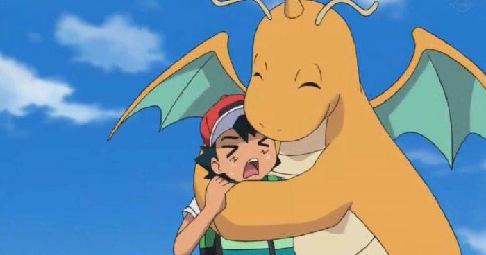 Ash a enfin réussi à attraper un Dragonite après 23 longues années