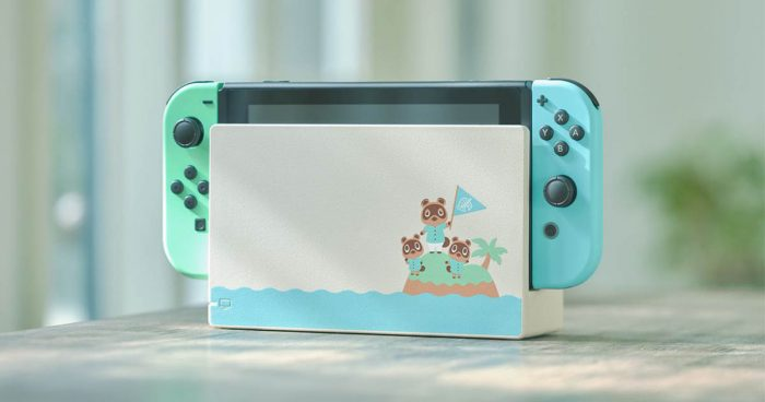 Nintendo dévoile une Switch Édition Animal Crossing New Horizons