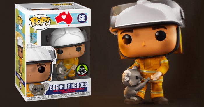 Funko Pop dévoile une figurine afin de rendre hommage aux pompiers australiens