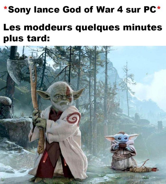 God of War 4 sur PC