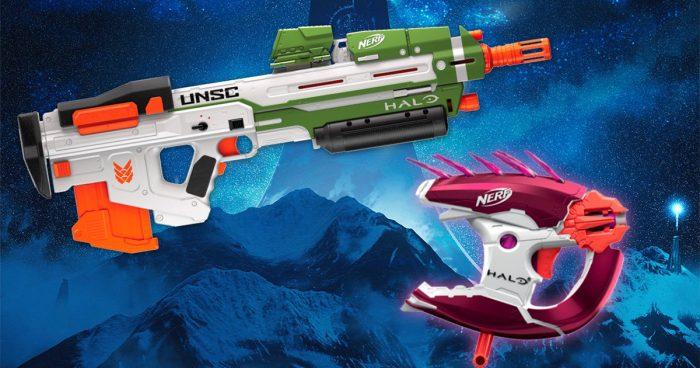 Hasbro lance une nouvelle gamme de fusil Nerf inspirés du jeu Halo