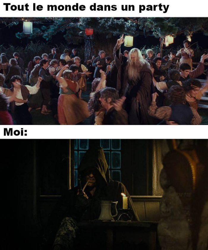 Dans un party