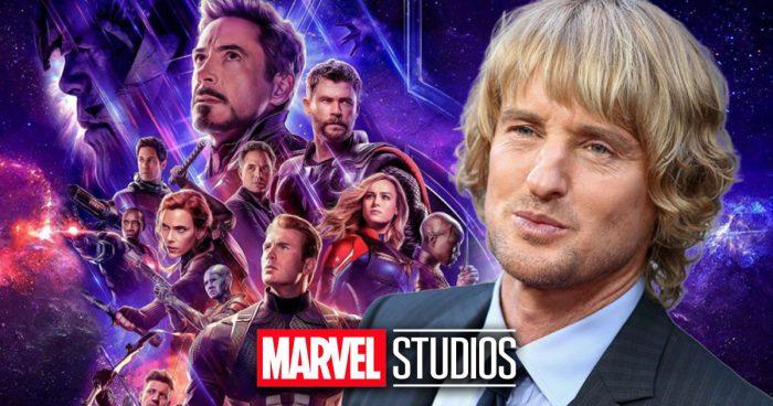 Marvel annonce que l'acteur Owen Wilson fera partie de la phase 4 du MCU