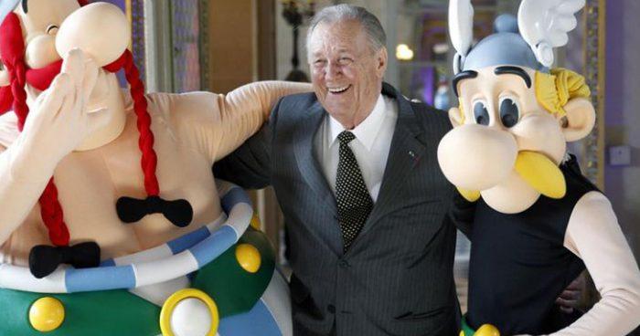Albert Uderzo, le dessinateur et le co-créateur d'Astérix est mort