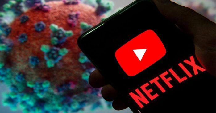 Netflix et YouTube baissent la qualité de ses vidéos pour faire face au Coronavirus