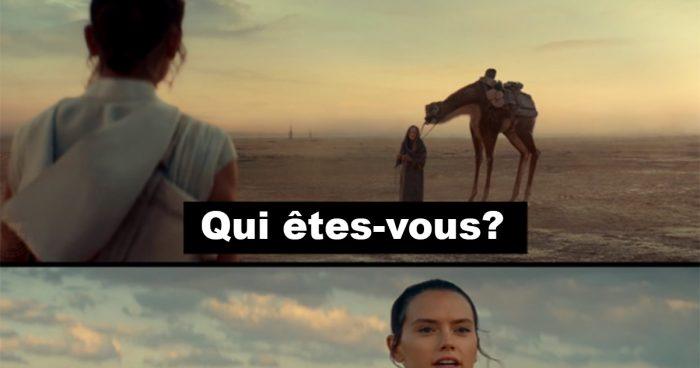 Rey a un message important pour vous