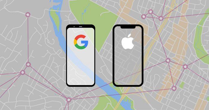 Google et Apple travaillent main dans la main pour créer un système de suivi pour le COVID-19