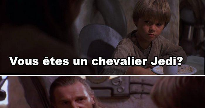 Un chevalier Jedi vs un Maître Jedi