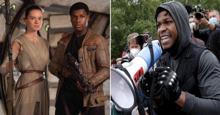 Le discours émouvant de l'acteur de Star Wars John Boyega