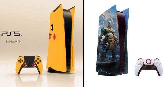 L'artiste BossLogic fait de nouveau rêver les fans avec de nouveaux designs de la PS5