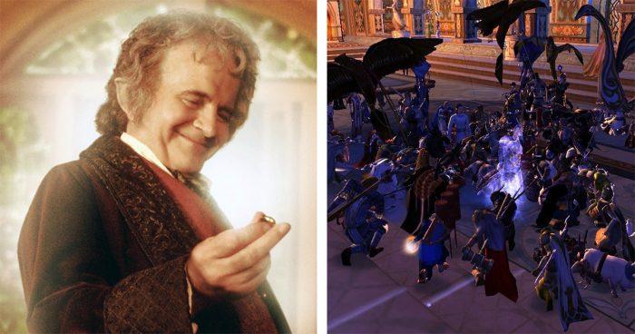 Les joueurs de Lord Of The Rings Online se sont réunis pour rendre hommage à Ian Holm