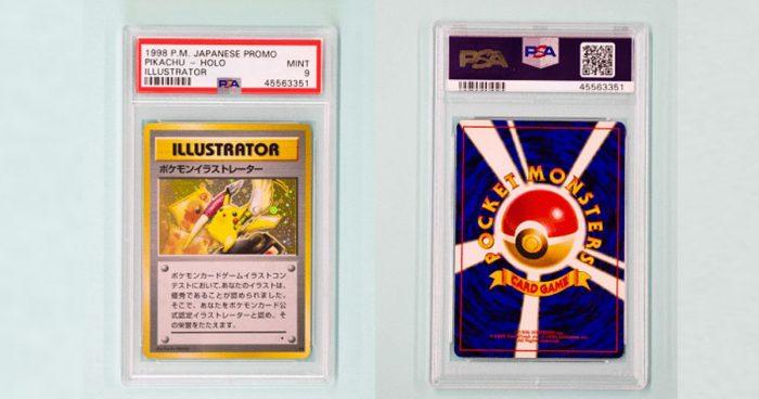 La carte Pokémon la plus chère au monde vient d'être vendue pour 250 000$ USD