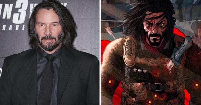 Keanu Reeves annonce BRZRKR mettant de l'avant un guerrier de 80 000 ans