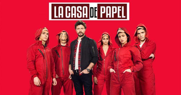 Le tournage de la saison 5 de La Casa de Papel a commencé