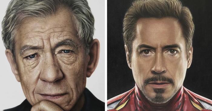 Cette artiste dessine des portraits extrêmement réalistes de personnes connues
