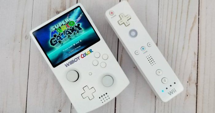 Il a créé une Nintendo Wii portable de la taille d'une Game Boy Color