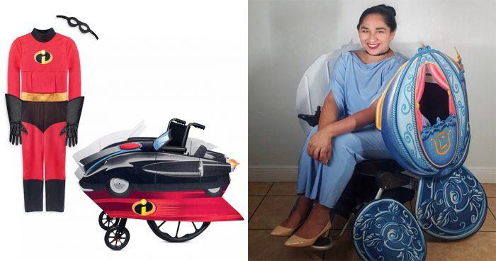 Pour l'Halloween, Disney a créé des costumes qui s'adaptent parfaitement aux fauteuils roulants