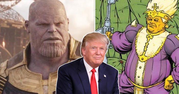 Le créateur de Thanos présente son nouveau Comic book mettant de l'avant Donald Trump