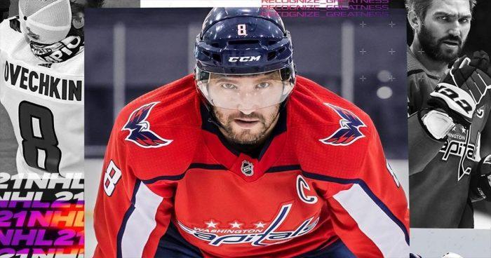 C'est Alexander Ovechkin qui aura l'honneur d'être sur la couverture de NHL 2021
