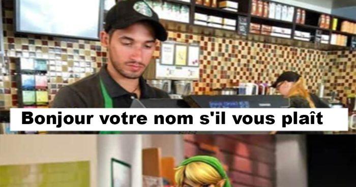 Quand Link va au Starbucks