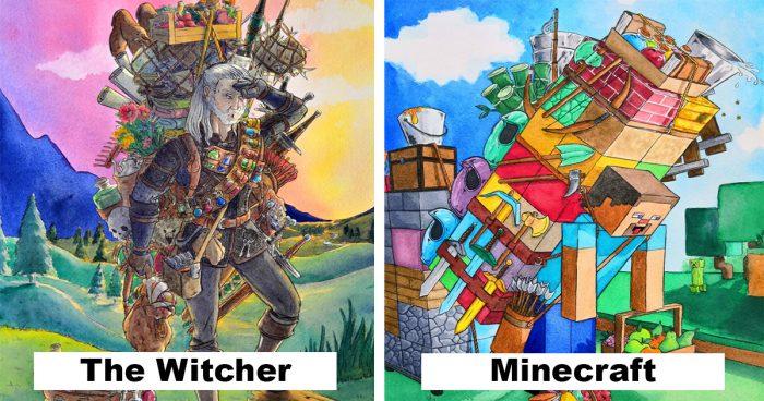 9 personnages de jeux vidéo qui portent réellement tout leur équipement