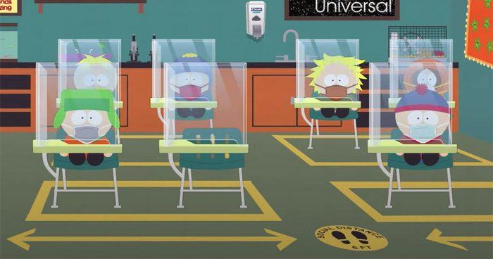 South Park va faire un épisode spécial d'une heure sur le COVID-19 (bande-annonce)