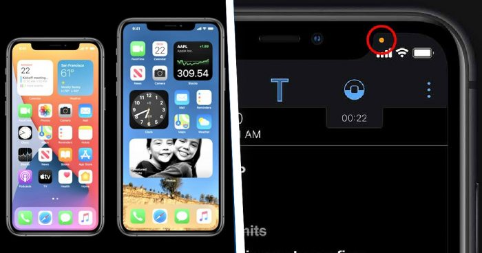Apple va maintenant vous avertir lorsqu'une application active votre caméra ou votre micro