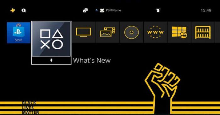 Sony vient de lancer un nouveau thème Black Lives Matter gratuit sur PS4