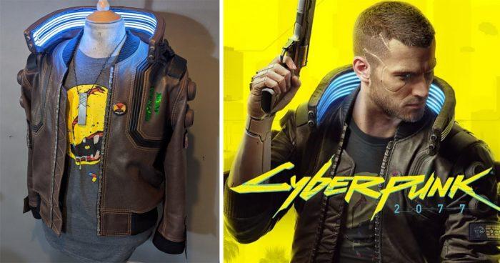 Un YouTuber a passé plus de 400h de travail pour faire cette veste Cyberpunk 2077