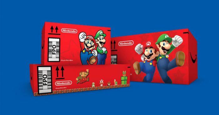 Nintendo s'est associé avec Amazon pour offrir des boîtes Mario