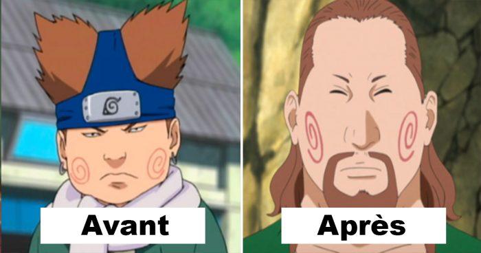 L'évolution des personnages de Naruto de 2002 à aujourd'hui (AVANT/APRÈS)