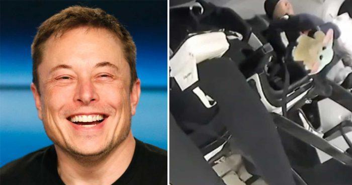Une peluche Baby Yoda a été envoyée dans l'espace à l'aide d'un vaisseau spatial d'Elon Musk