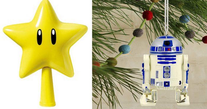 15 décorations de Noël geek pour votre sapin de Noël