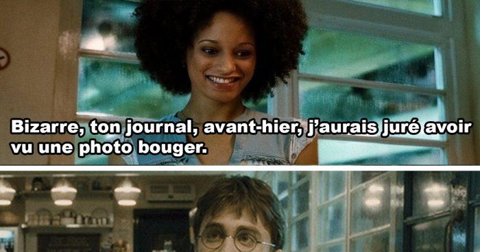 Harry Potter et son journal qui bouge