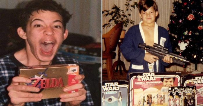 30 photos nostalgiques montrant des cadeaux de Noël des années 80-90