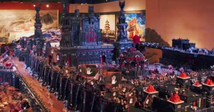 Une bataille du Seigneur des anneaux reproduite avec 150 millions de LEGO
