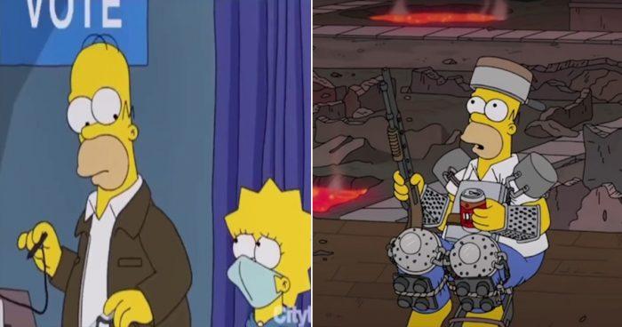 Les Simpson avaient prédit la fin du monde pour le 20 janvier 2021