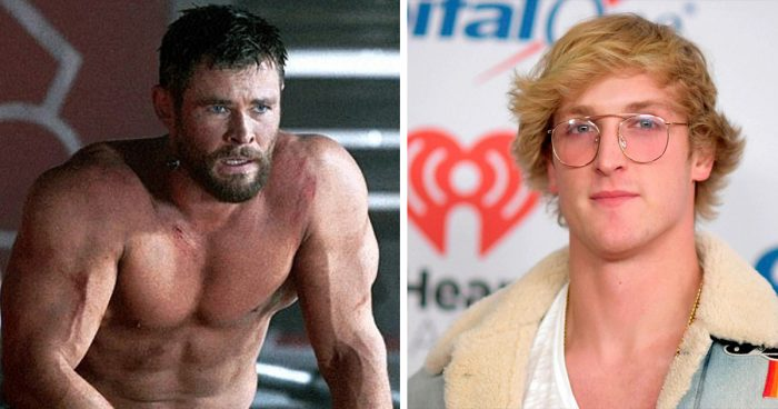 Le YouTuber Logan Paul veut affronter Chris Hemsworth dans un match de boxe