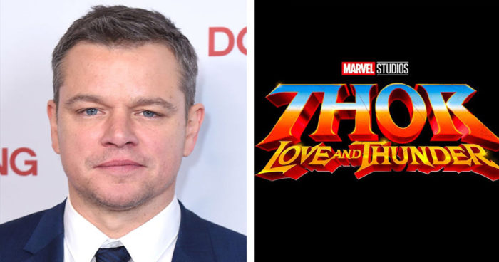 Un apparition de Matt Damon dans Thor: Love and Thunder?