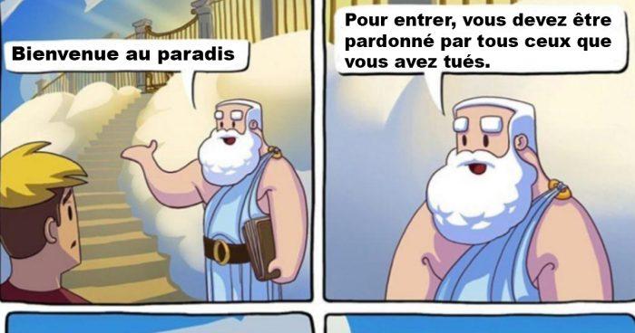 Les gamers quand c'est le moment d'aller au paradis