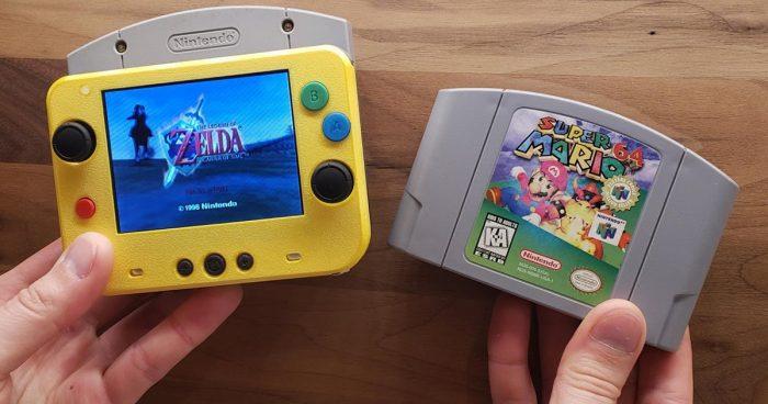 GmanModz a créé la plus petite Nintendo 64 portable au monde
